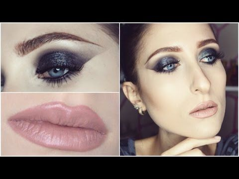 Grunge Gunmetal Black Smokey Eyes /Urban Decay Naked 2 Palette/ GRWM ♥ Makeup  Tutorial