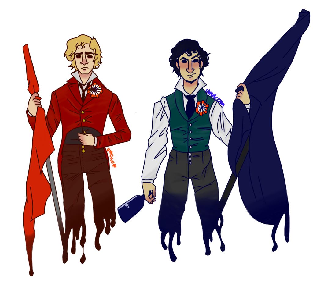 Enjolras And Grantaire By Umelcom On Deviantart Les Miserables Enjolras Grantaire Favorite Movie Quotes