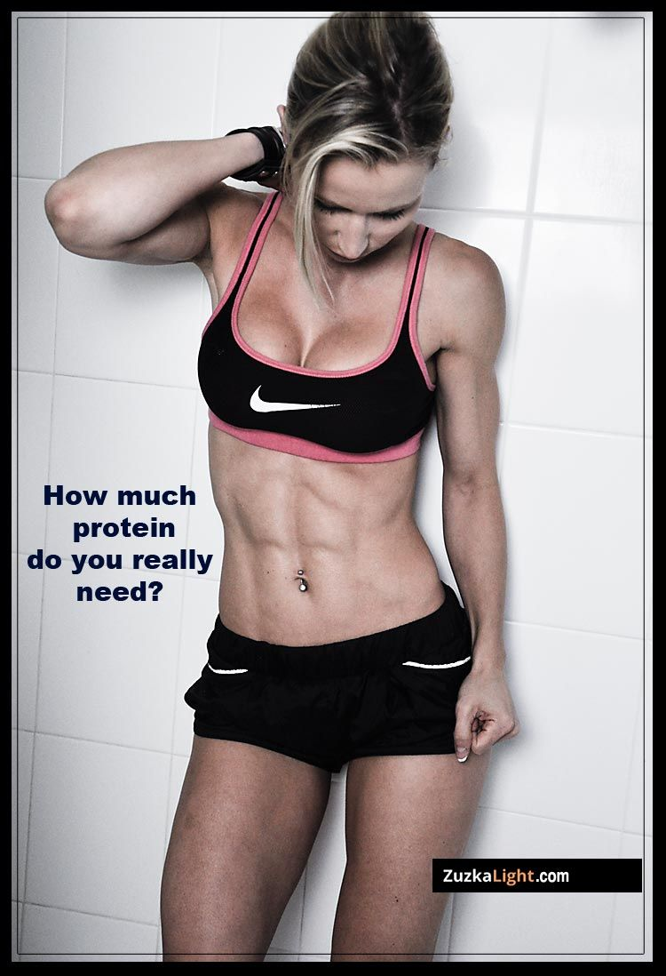 How Much Protein Do You Really Need Fitness Motivation Fitness Inspiration Abs