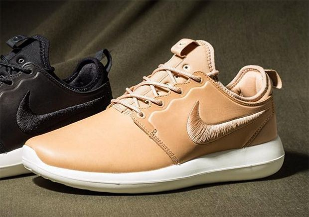 NikeLab Roshe Two Leather Premium Womens Brown