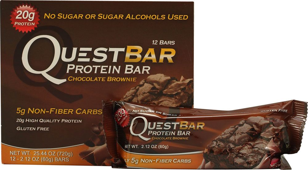 Quest Bars are one of the few protein bars made with real food, and they tasty really good!