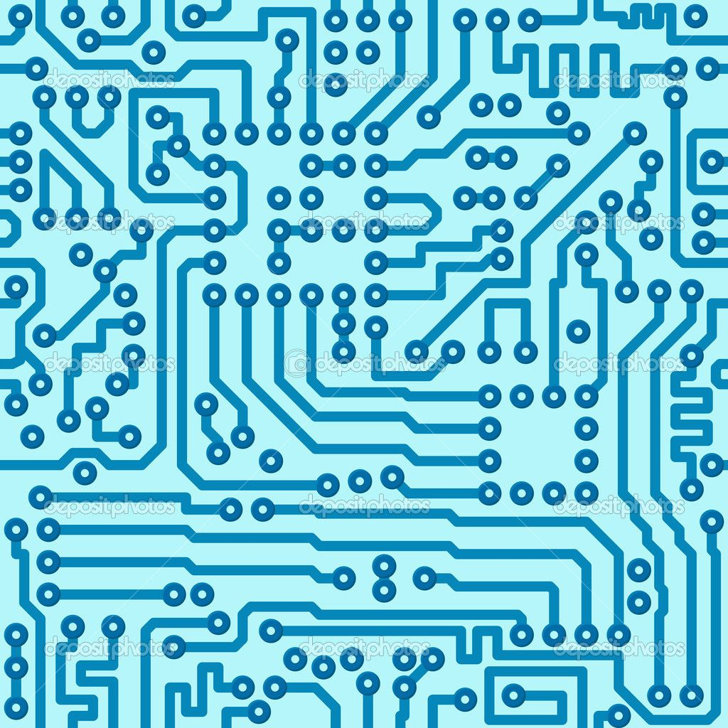 Electronic Pattern Making : Depositphotos electronic digital circuit board