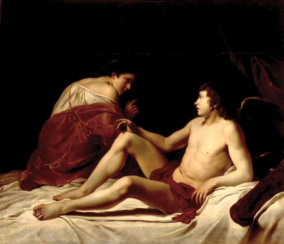Orazio Gentileschi - Cupid and Psyche Hermitage