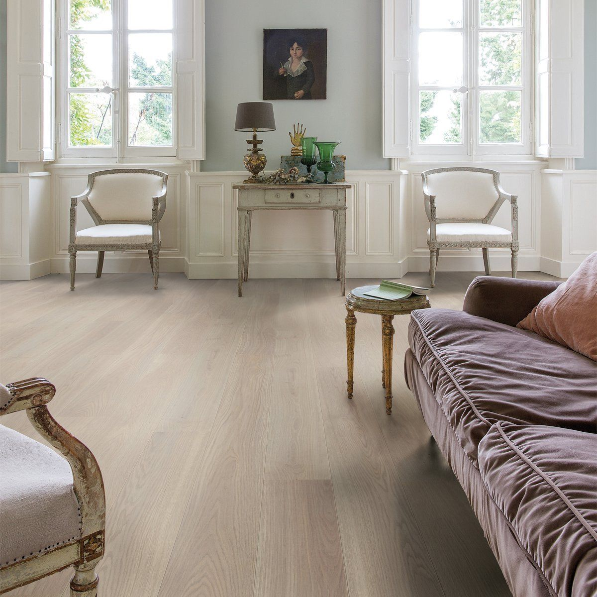 Parquet Contrecolle Large Palazzo Chene Givre Huile Quick Step 14x190x1820 Mm Quick Step Null Decoration Interieure Parquet Contrecolle Decoration Maison