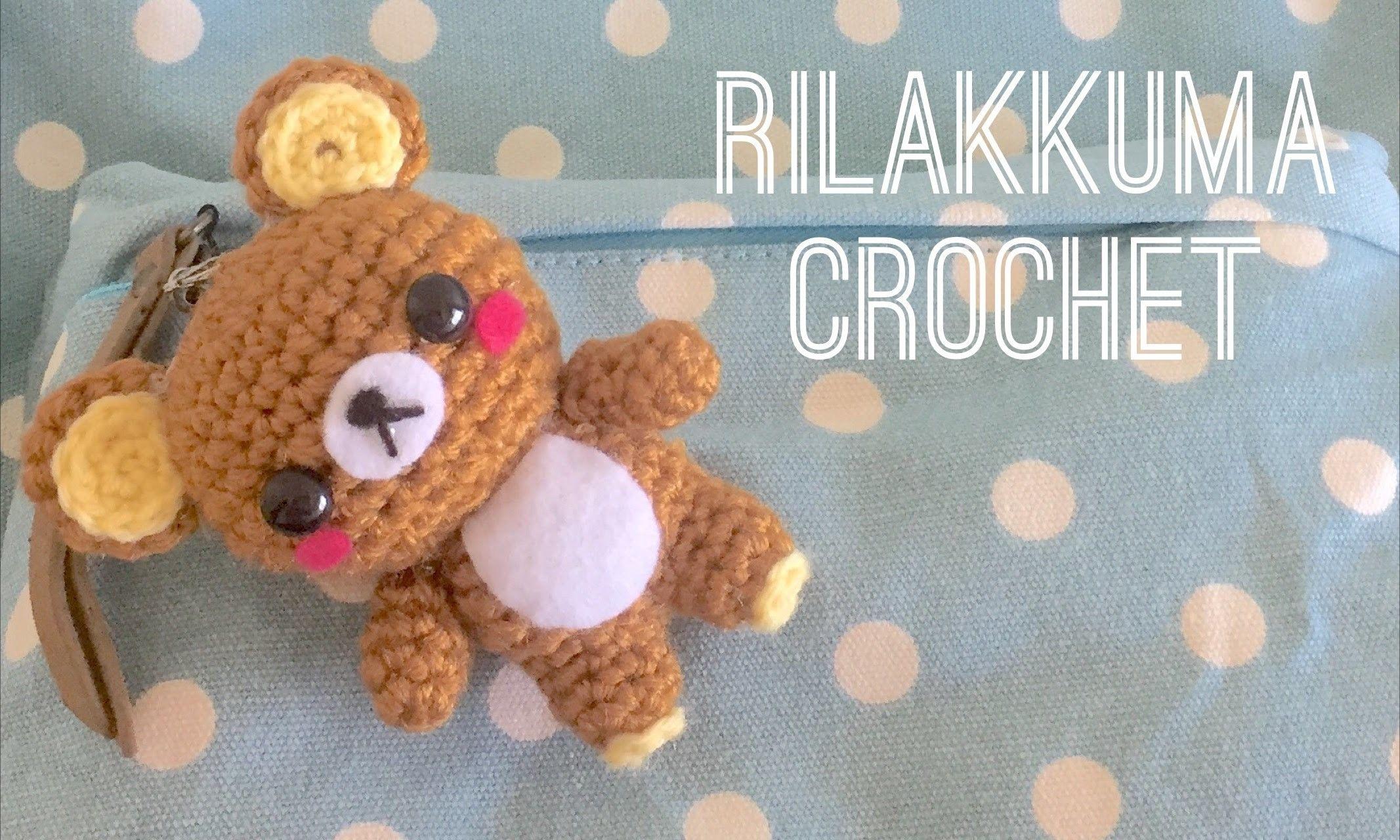 Rilakkuma Crochet Tutorial   Pinterest   Patrones amigurumi, Tejido ...