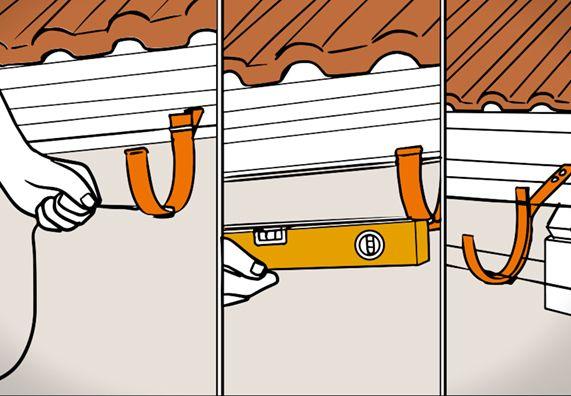 Dachrinne montieren in 5 Schritten Dachrinne montieren