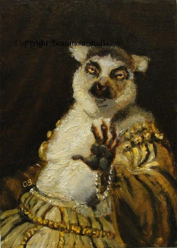 Anthropomorphic ~ I am and always will be a sucker for lemurs.