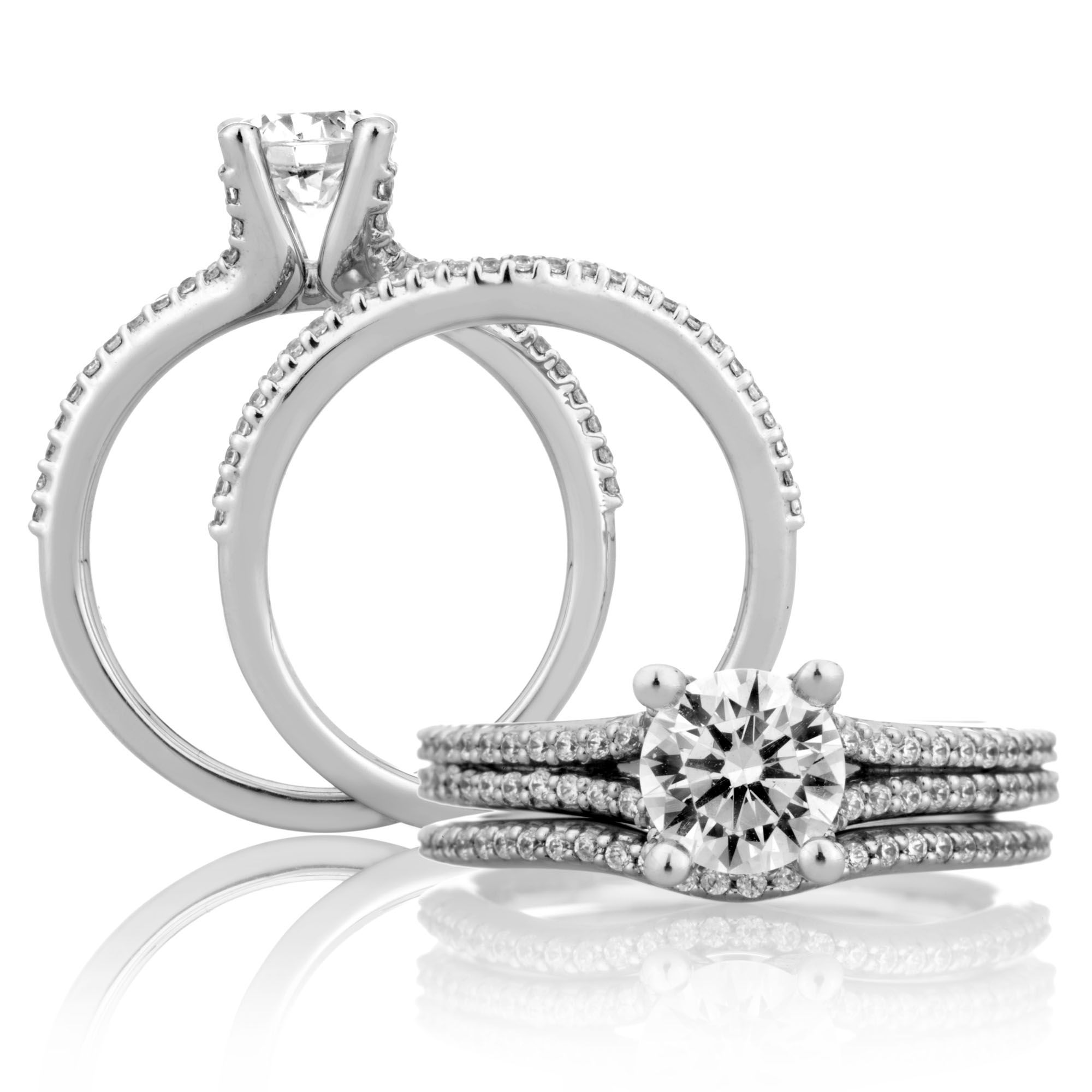 A. JAFFE's ME1432 Diana engagement ring! Diana
