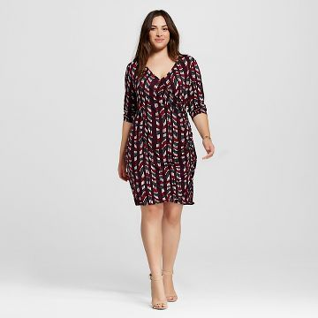 Womens Plus Size Wrap Dress Ava Viv Target Pinterest