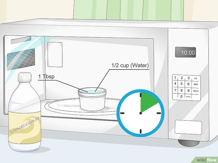 Get rid of microwave smells microwave home cleaning