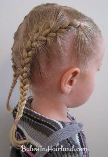 Toddler French Braids (8) cheaters style