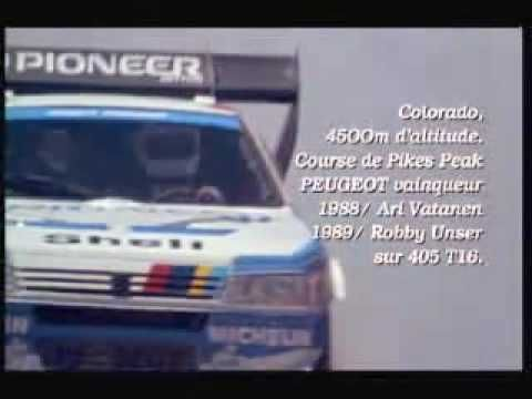 Climb Dance Pikes Peak 1988 Vatanen Peugeot 405 T16 With Images