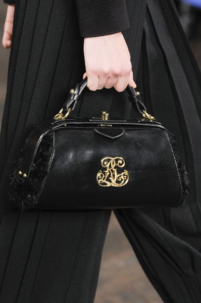 Ralph Lauren.....black leather......<3...