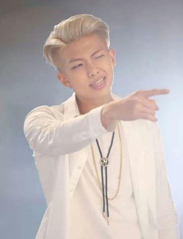 Rap Monster Blonde Hair Rap Monster Bts Rap Monster Bts Bangtan Boy