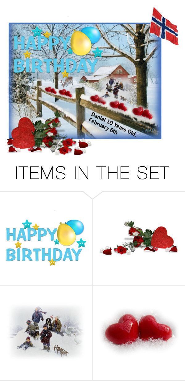 """""""Happy Birthday to Daniel! From Aunt Laila!"""" by laila-bergan ❤ liked on Polyvore featuring art"""