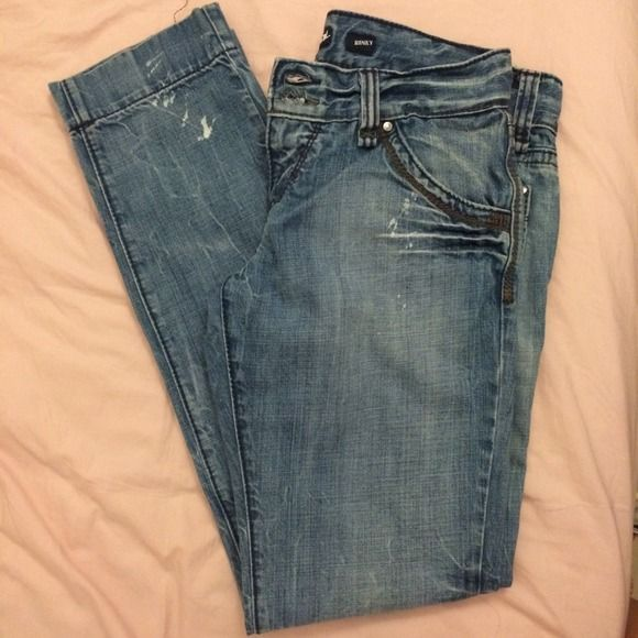 Miss 60 jeans pant~ Casual jean pants~ the size is 32~ however~ It's like size 30 as regular~ almost new! Miss Sixty Jeans