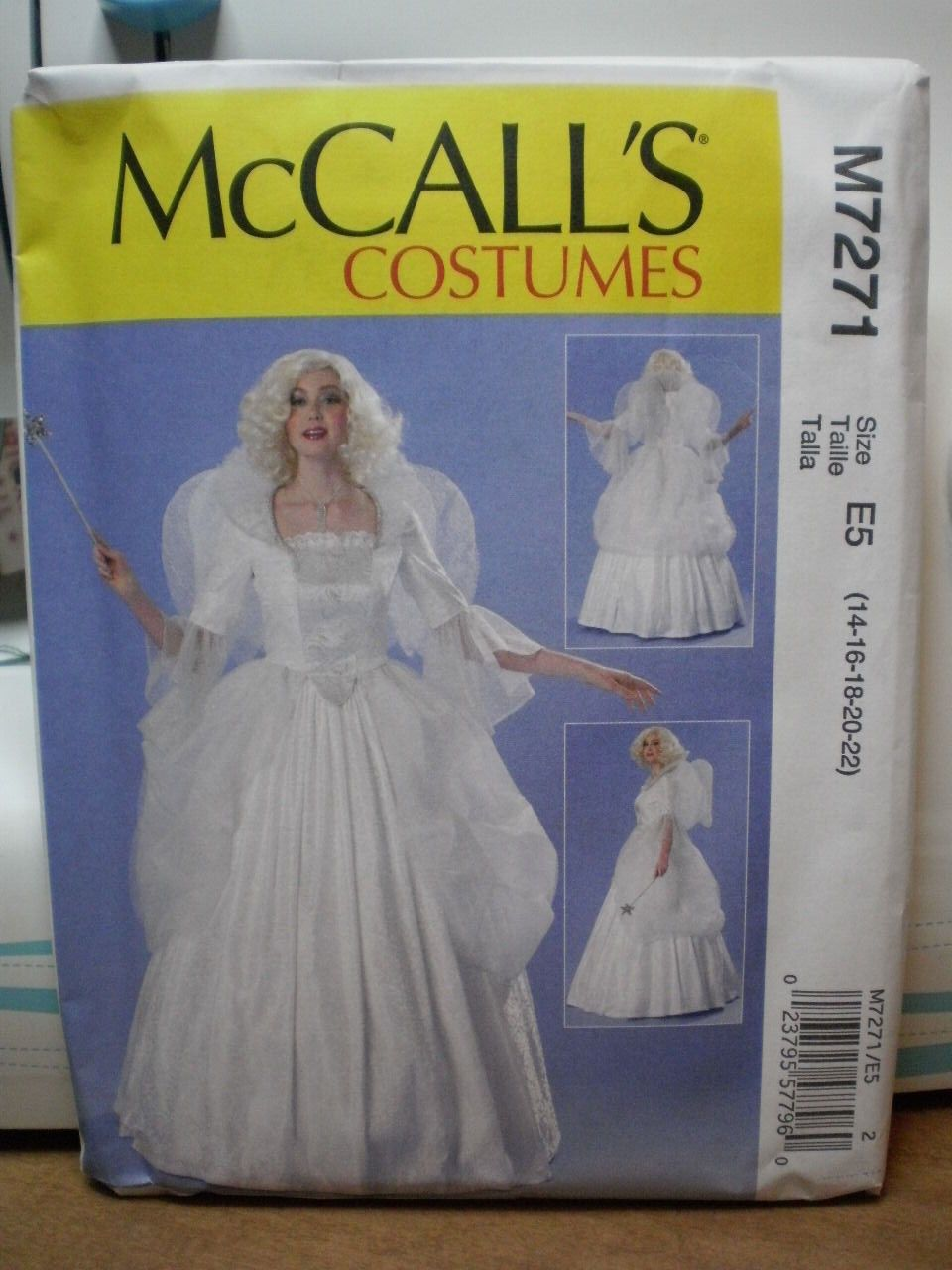 Mccall S 7271 Misses Fairy Godmother Costume Pattern Sizes 6 14