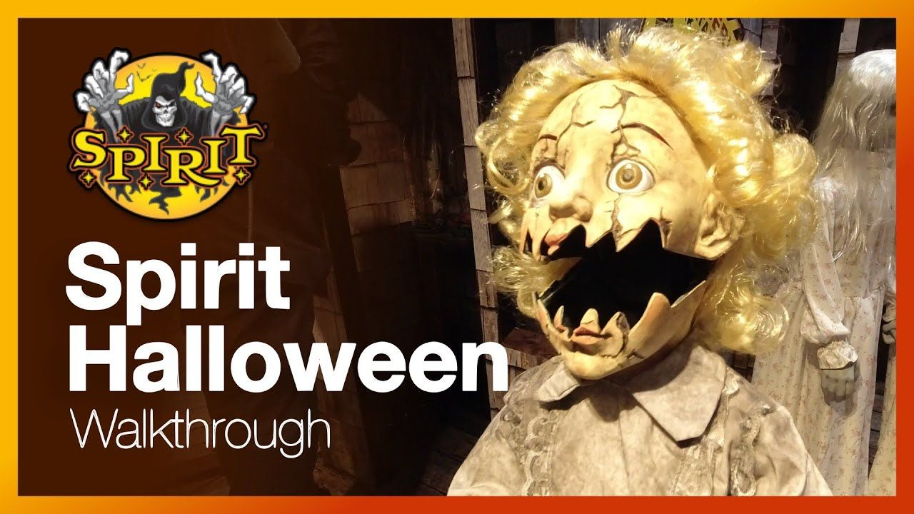Spirit Halloween Store Walkthrough 2019 Decorations