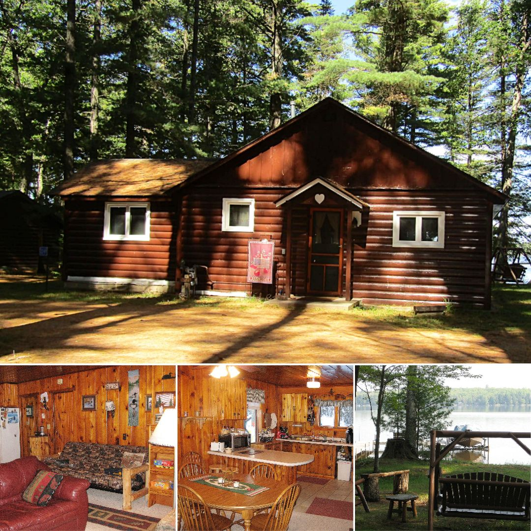 Lingering pines cabin on lost lake in 2020 wisconsin