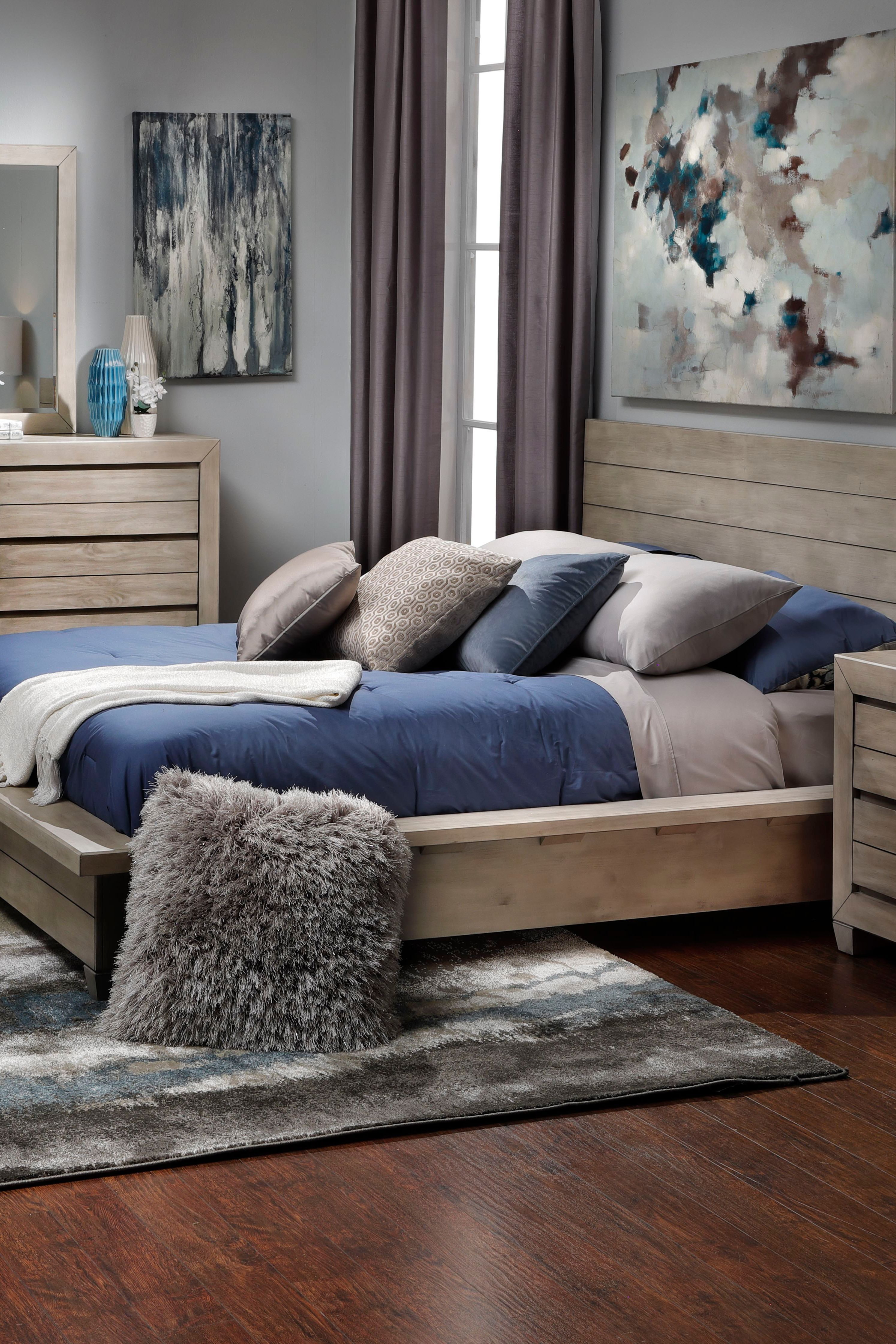 Get the Portland Queen Platform Bed for 549 during the