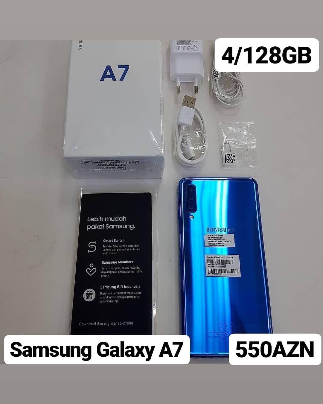 Samsung Galaxy A7ekran 6 0 Inch 1080x2020hd Pixel 411 Ppi Super Amoled Multi Touchram4gbrom128gbarxa Kamera24mp8mp5mpf1 Instagram Posts Instagram Cool Pictures