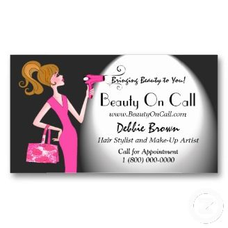 Beauty For Celebrities Business Cards Hairstylist Business Cards Beautician Business Cards Beauty Business Cards