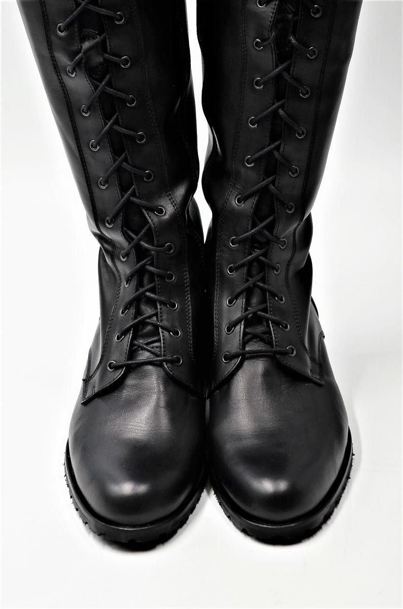 Stiefel vorne geschnürt | Stiefel, Damenschuhe und Lederstiefel