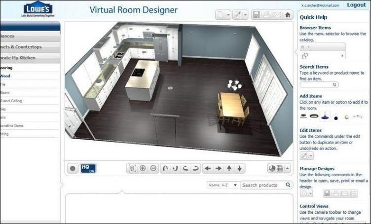 Room · lowes virtual room designer 5