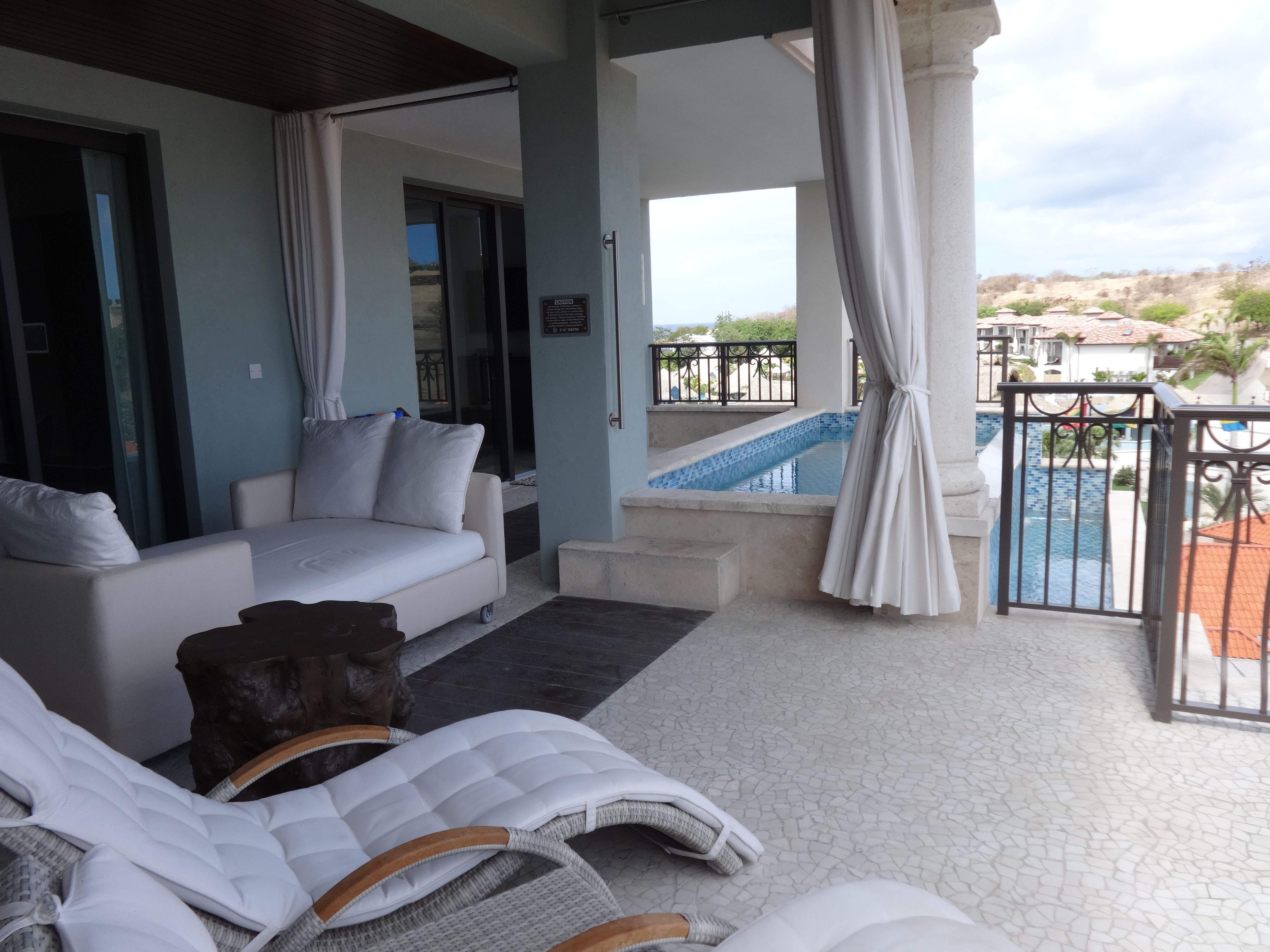 One Bedroom Balcony Suite Immense Balcony Of The Oceanview Sky Pool 1 Bedroom Butler Suite