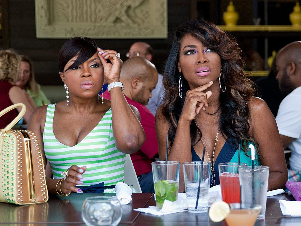 Real Housewives of Atlanta Sneak Peak: Phaedra Parks and Kenya Moore End ... Kenya  #Kenya