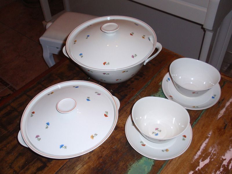 Weimar porzellan ddr east german ddr tableware for Geschirr set vintage