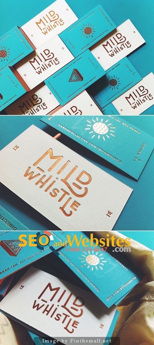 Multi Color Business Cards