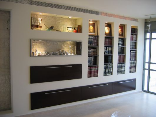 trockenbau design b cherregal in 2019 privacy walls house design und drywall. Black Bedroom Furniture Sets. Home Design Ideas