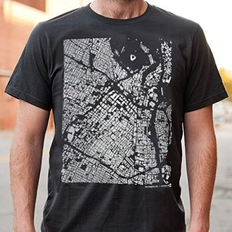 Wear You Live – Los Angeles T-Shirt (the urban planning geek in me says BUY IT)