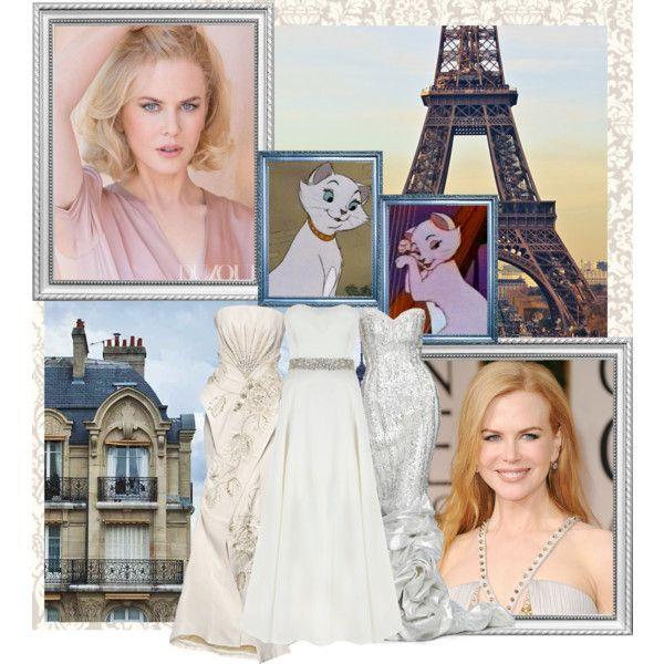 """Nicole Kidman as Dutchuss """"Oh, c'est très jolie, monsieur. Very poetic."""" by srta-sr on Polyvore"""