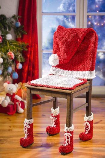 Weihnachtsdeko Stuhl.Alles Andere Als Langweilige Masche Ein Stuhl Wird Zum