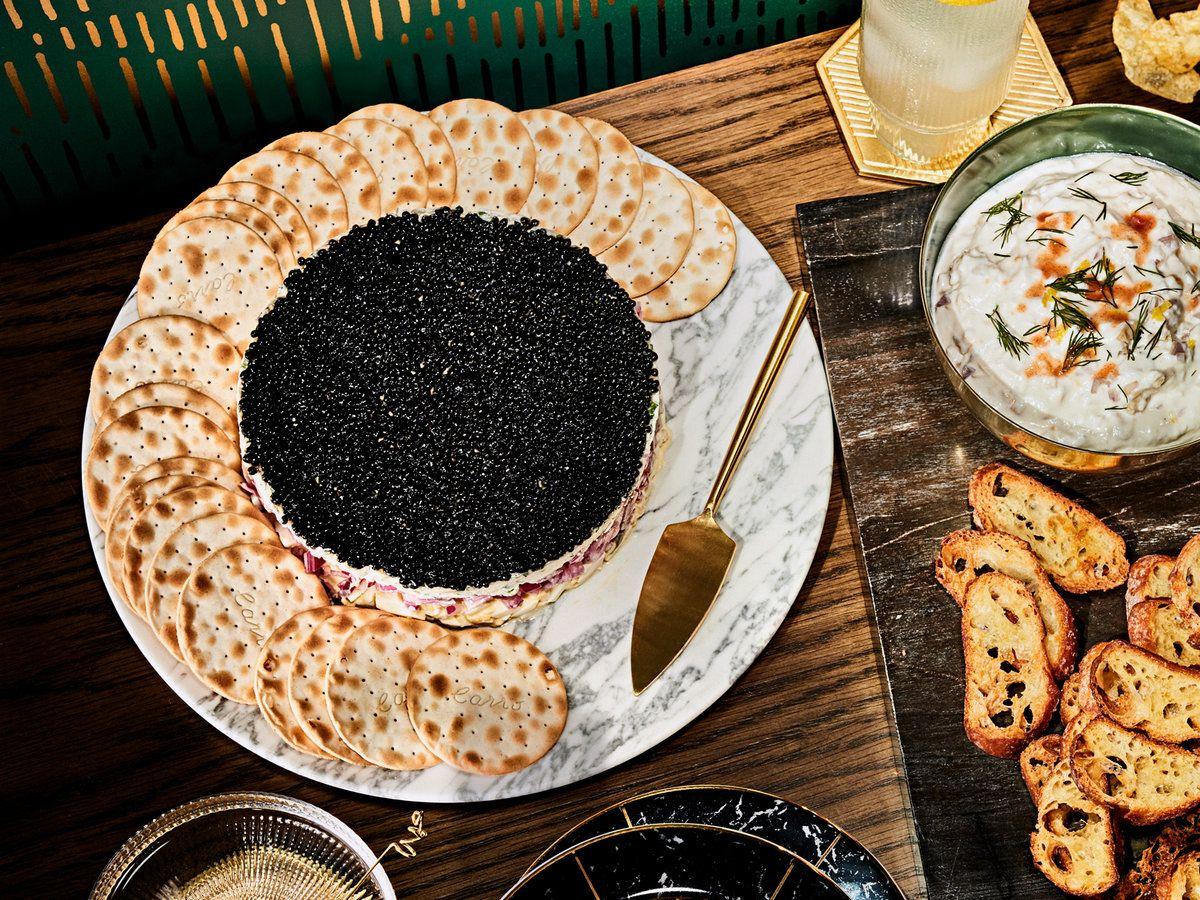 FourLayer Caviar Dip Recipe Food, Wine recipes, How