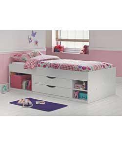 buy alfie single cabin bed white at your. Black Bedroom Furniture Sets. Home Design Ideas
