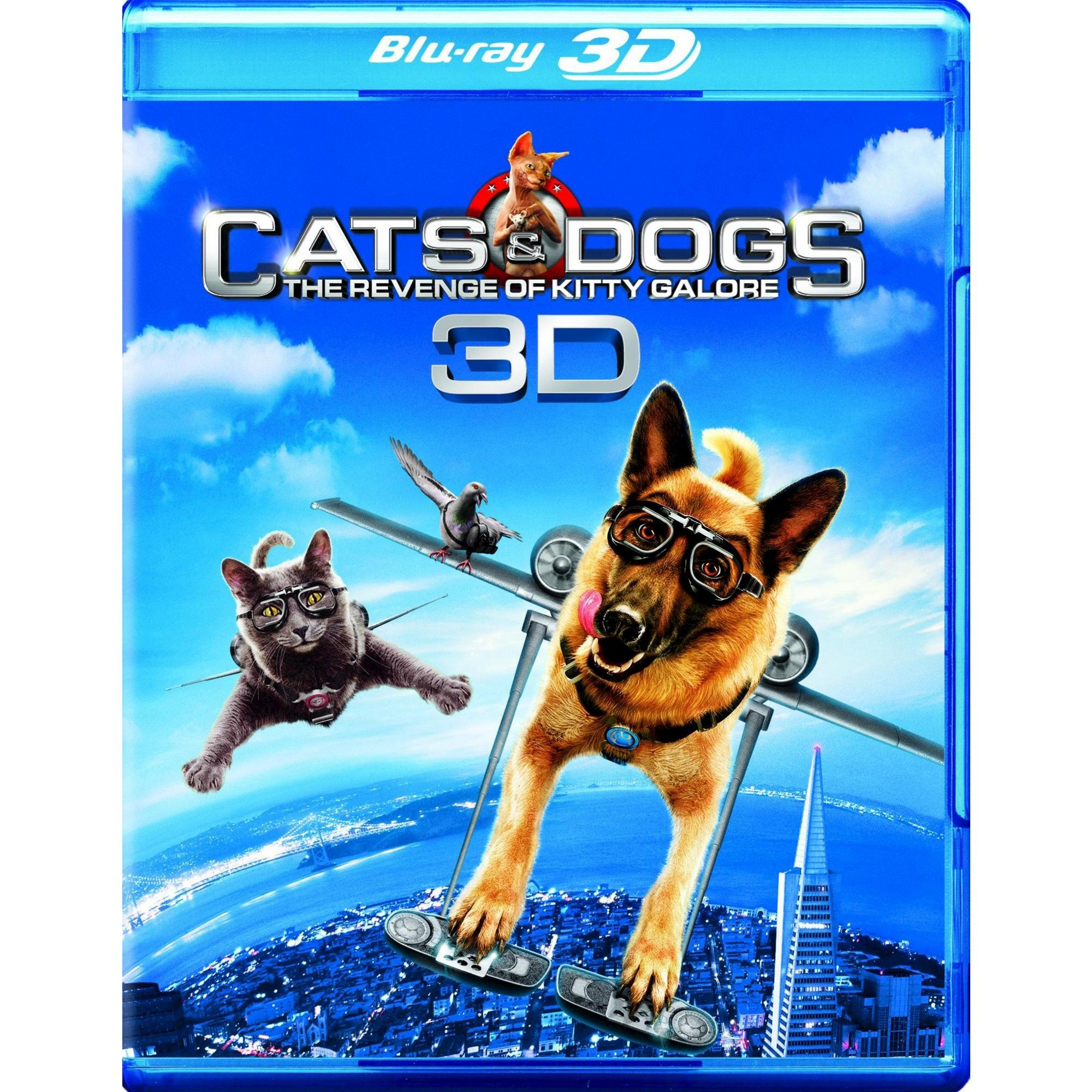 Cats & Dogs The Revenge Of Kitty Galore 3d (Bd/Dvd Combo