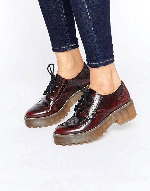 Monki Lace Up Shoe at asos.com. Fashion OnlineWomen's ...