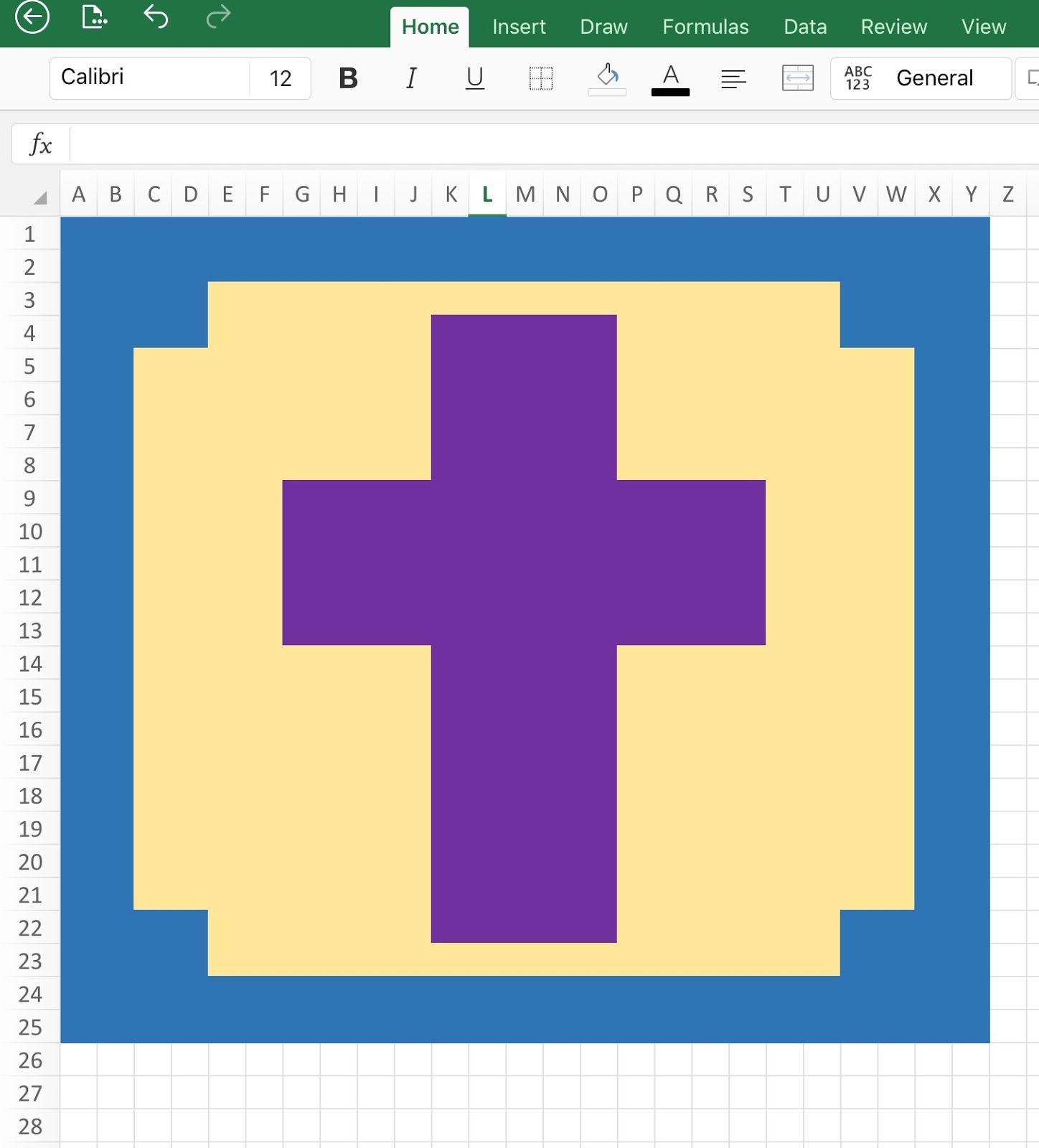 Pixel Graph Cross, C2C graph, April Crochet Block...