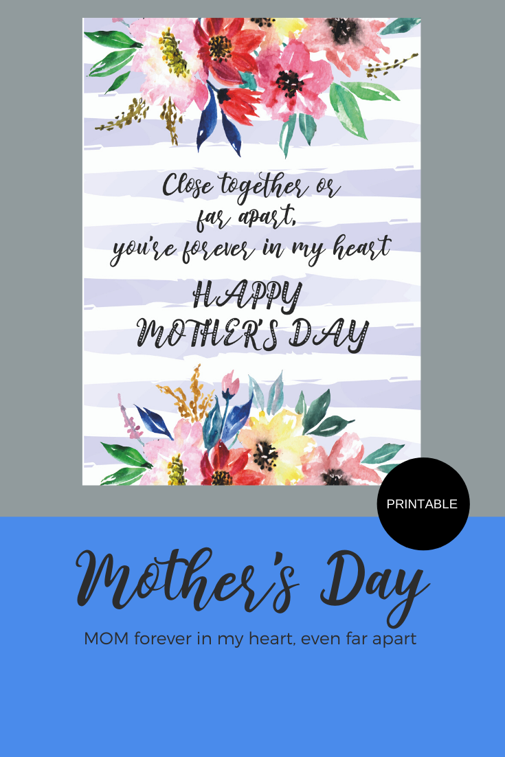 Printable Mother S Day Greeting Card Instant Digital Printable Download In 2020 Mother S Day Greeting Cards Cards Greeting Cards