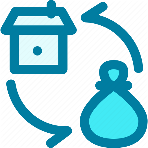 Asset Assets Loan Money Money Bag Property Real Estate Icon Download On Iconfinder Real Estate Icons Money Bag Icon