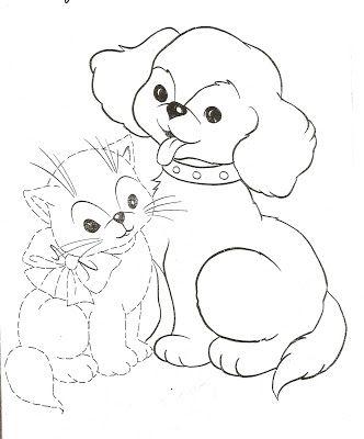 Cocuklara Kopek Ve Kedi Resimleri Boyama Resimleri Resim Cizimler Cizim