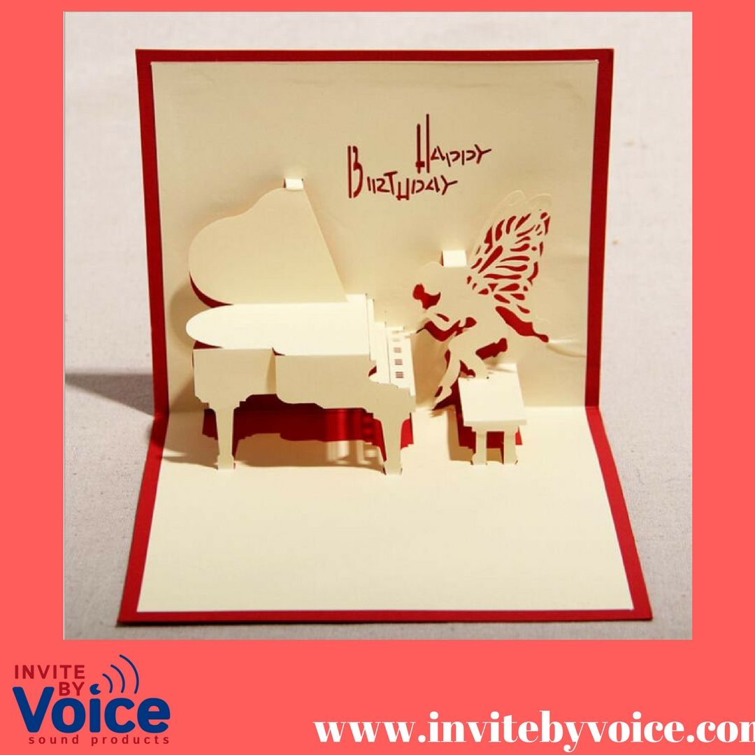 Popup Greeting card plus our recordable slide tongue sound module ...