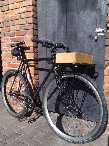 Fix Memphis Porteur Roller Roller Bike Storage Bike