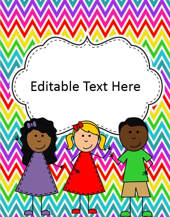 "Free editable binder cover .....Follow for Free ""too-neat-not-to-keep"" teaching tools & other fun stuff :)"