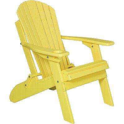 Longshore Tides Ibrahim Plastic Folding Adirondack Chair Color