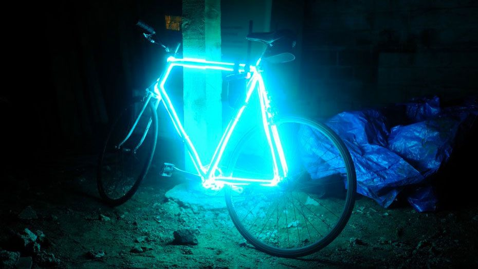 Turn Your Bike into a Safe-at-Night TRON-Cycle with EL Wire | Cycling