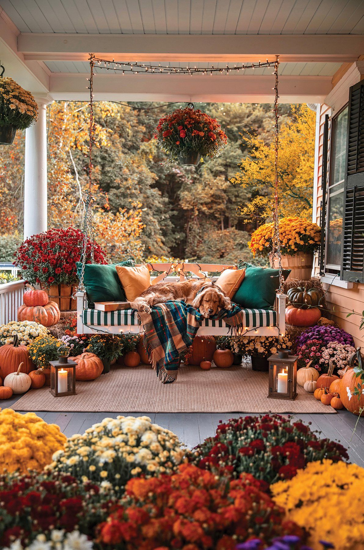 Cozy Autumn Porch Puzzle Cozy Autumn Porch Puzzle